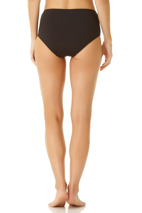 Cole Of California - Mesh Side Shirring High Waisted Bottom