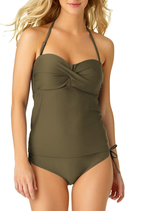 Catalina - Women's Bandeau Tankini Top