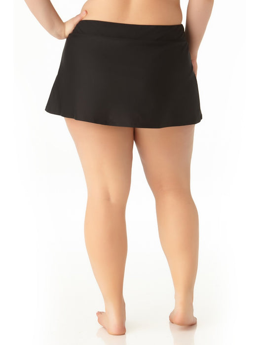 Catalina Plus - Size Skirted Swim Bottom