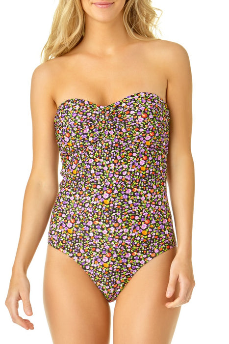 Catalina - Women's Twist Front Bandeau One Piece
