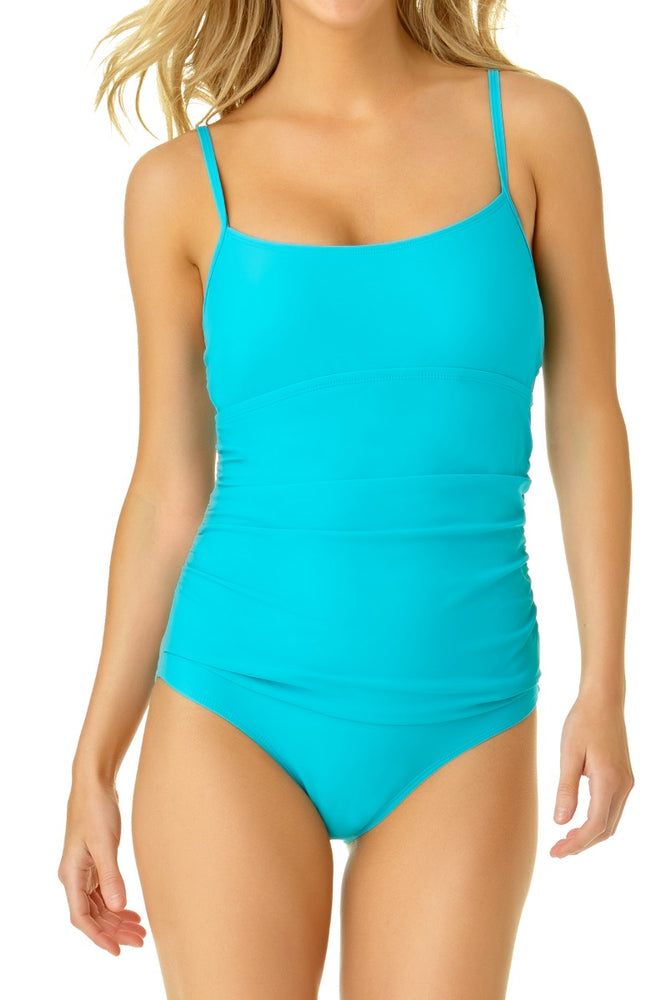 Catalina - Women's Shirred Lingerie One Piece