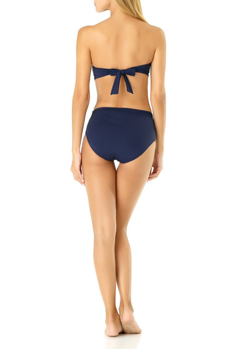 Anne Cole - Live in Color Twist Front Bandeau Top