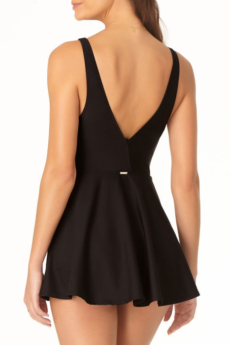 Anne Cole - Plunge Swim Dress