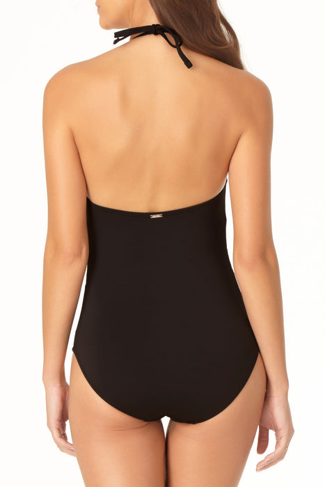 Anne Cole - High Neck Keyhole One Piece