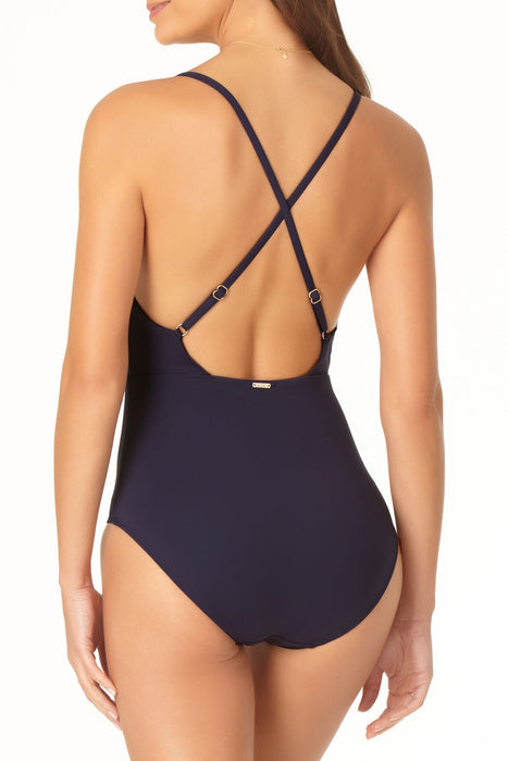 Anne Cole - Wrap Front Maillot One Piece
