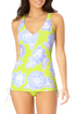 Catalina - Adjustable Side Cinch Tankini Top