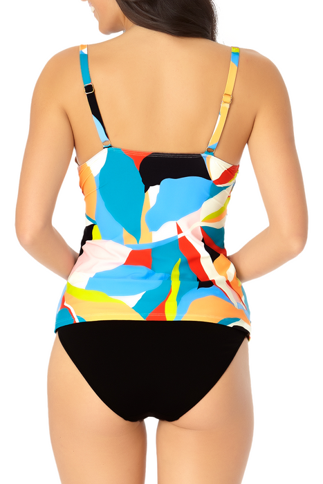 Catalina - Twist Front Underwire Tankini Top