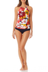 Anne Cole - High Neck Beaded Tankini Top