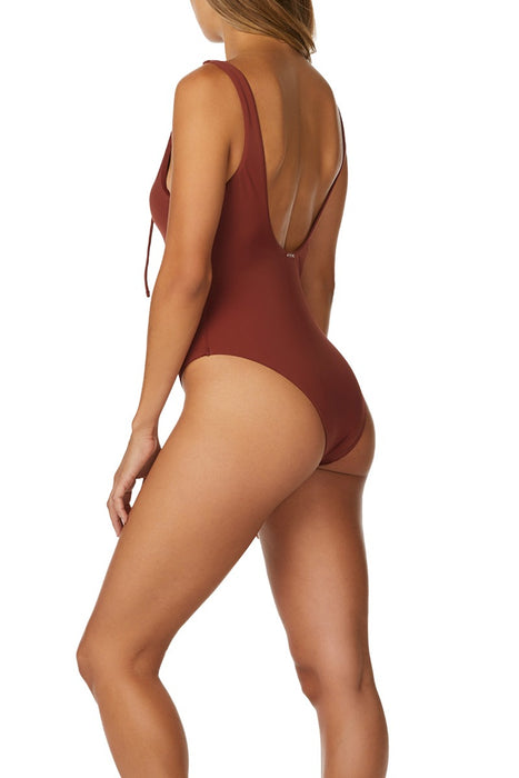 Radio Fiji - Women's Paloma Lace Up One Piece