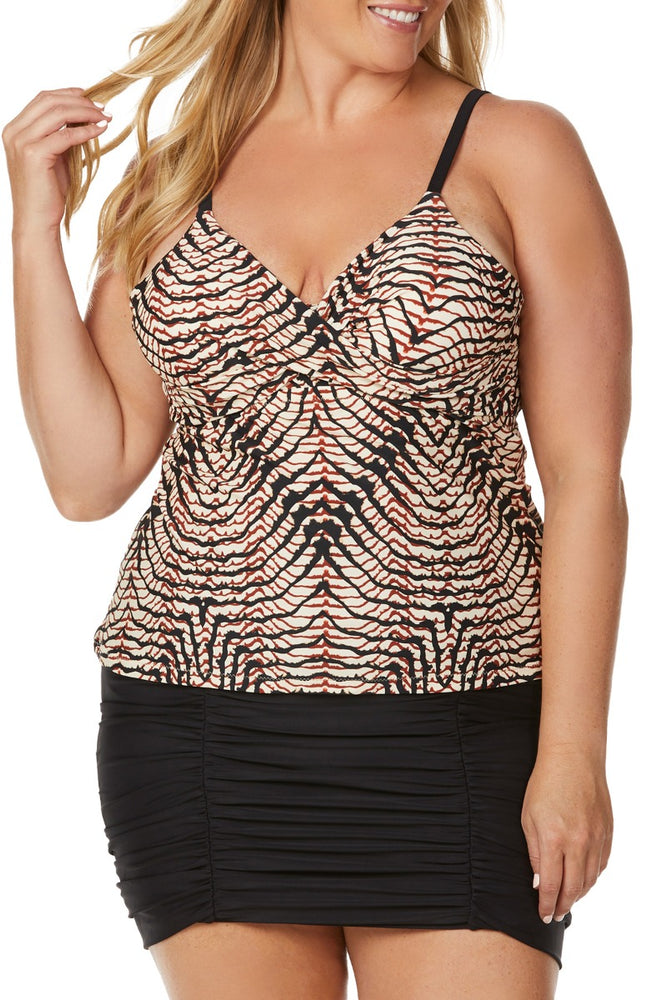 Raisins Curve - Culebra Aries Push Up Underwire Tankini Top