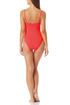 Anne Cole - Vintage High Leg Maillot One Piece