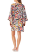 Anne Cole - Flounce V Neck Tunic Cover Up