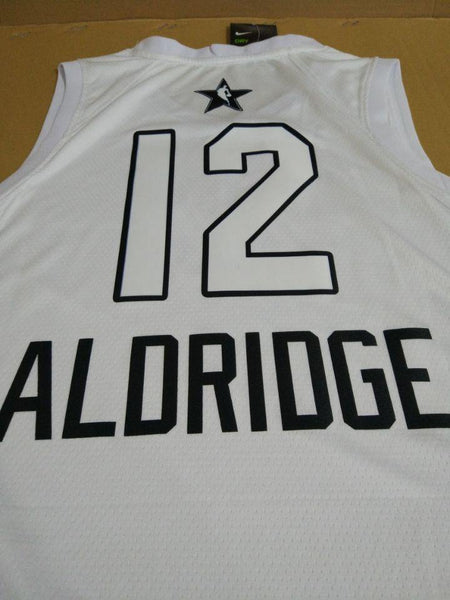 All Star Men 12 LaMarcus Aldridge Jersey White San Antonio Spurs Fanatics - fastssd - NBA Jersey - nRevo
