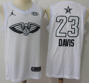 Men 2018 All Star 23 Anthony Davis Jersey White New Orleans Pelicans - fastssd - NBA Jersey - nRevo