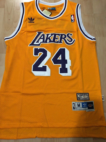 Men 24 Kobe Bryant Jersey Yellow Los Angeles Lakers Swingman Jersey - fastssd - NBA Jersey - nRevo