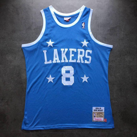 Men 8 Kobe Bryant Jersey Mitchell & Ness Blue Los Angeles Lakers Jersey - fastssd - NBA Jersey - nRevo