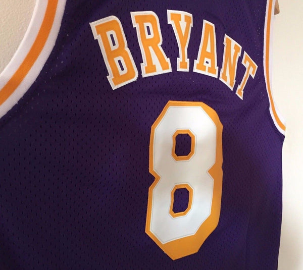 Men 8 Kobe Bryant Jersey Purple Los Angeles Lakers Swingman Jersey - fastssd - NBA Jersey - nRevo