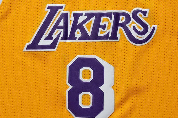 Men 8 Kobe Bryant Jersey Yellow Los Angeles Lakers Swingman Jersey - fastssd - NBA Jersey - nRevo
