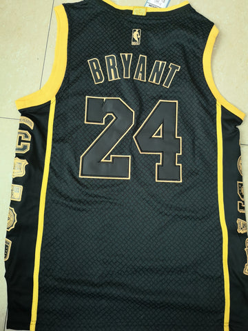 Hot Men 24 Kobe Bryant Jersey Special Black Los Angeles Lakers Swingman Jersey - fastssd - NBA Jersey - nRevo