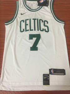 Men 7 Jaylen Brown Jersey White Boston Celtics Jersey Swingman Fanatics - fastssd - NBA Jersey - nRevo