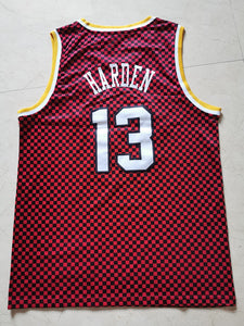 Men 13 James Harden Jersey Red Houston Rockets Jersey Hardwood Classics - fastssd - NBA Jersey - nRevo