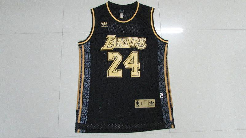Men 24 Kobe Bryant Jersey Black Los Angeles Lakers Swingman Retro Jersey - fastssd - NBA Jersey - nRevo