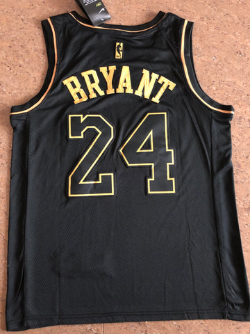 Men 24 Kobe Bryant Jersey Black Gold Los Angeles Lakers Swingman Jersey Limited Edition - fastssd - NBA Jersey - nRevo