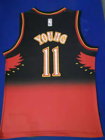HOT Men 11 Trae Young Jersey Mix Atlanta Hawks Jersey Swingman Fanatics - fastssd - NBA Jersey - nRevo