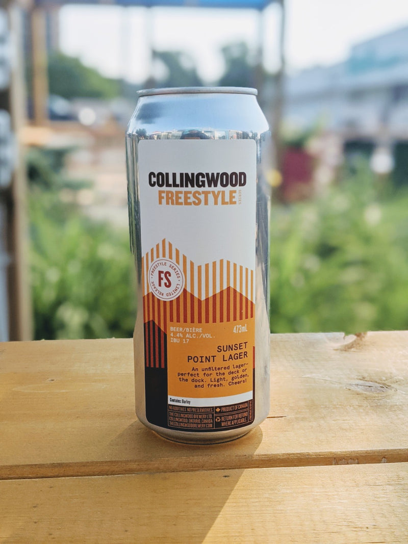 Collingwood Freestyle Sunset Point Lager