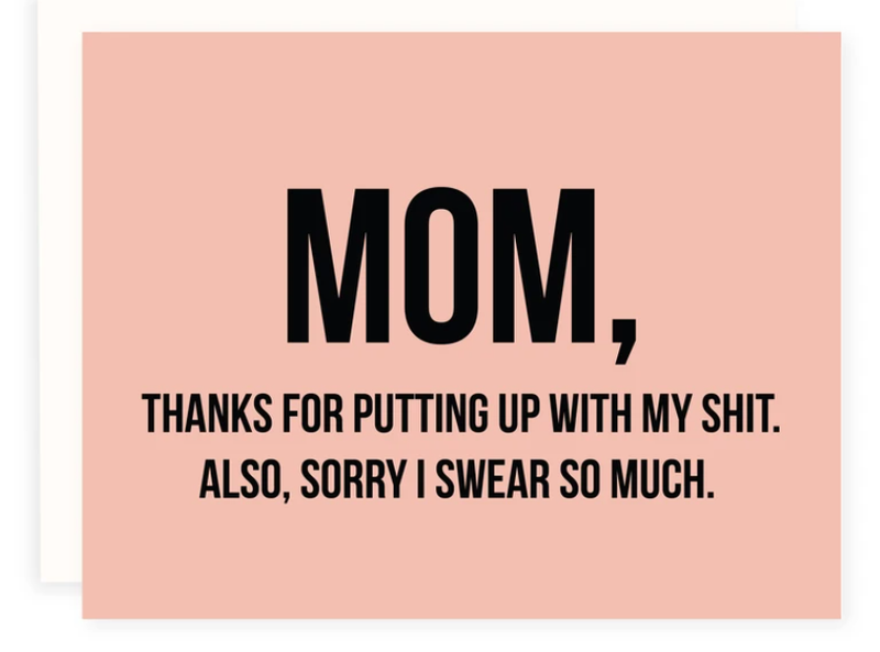 Mother's Day Card - Swear