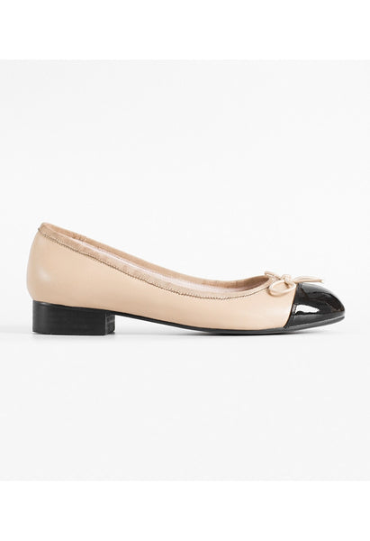 Lamb Leather Ballet Flats - Alison Sman - 1