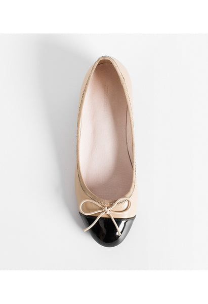 Lamb Leather Ballet Flats - Alison Sman - 3