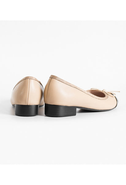 Lamb Leather Ballet Flats - Alison Sman - 4