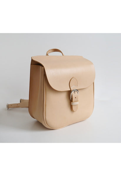 Leather Box Backpack - Alison Sman - 3
