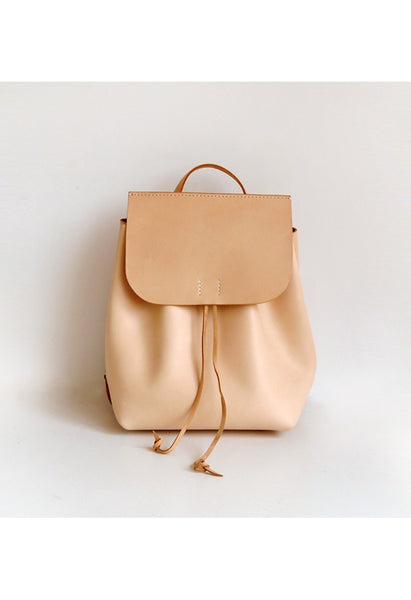 Large Leather Backpack - Alison Sman - 6