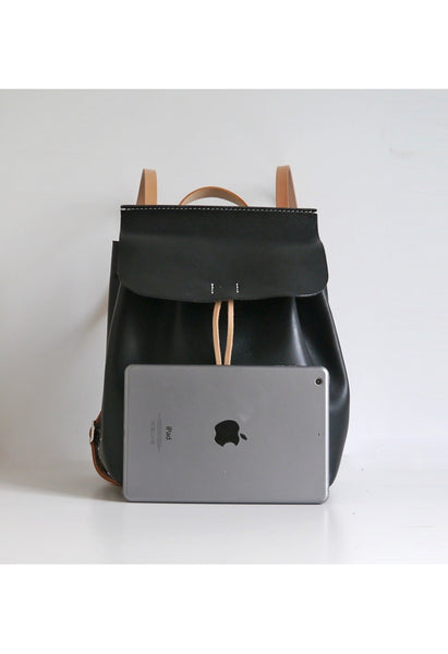 Large Leather Backpack - Alison Sman - 4