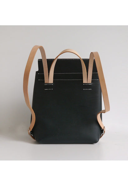 Large Leather Backpack - Alison Sman - 2