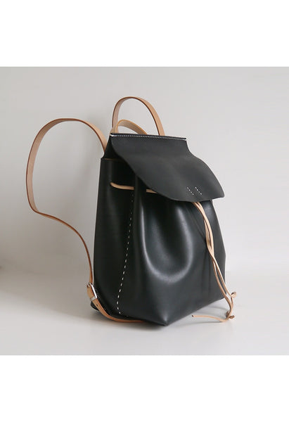 Large Leather Backpack - Alison Sman - 3