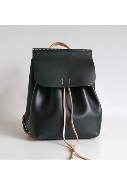 Large Leather Backpack - Alison Sman - 1