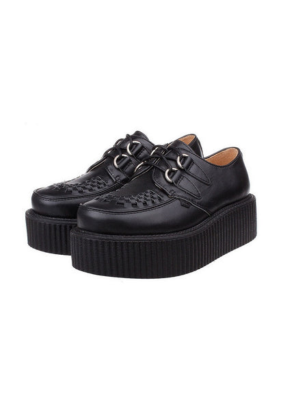 White Leather Creepers - Alison Sman - 4