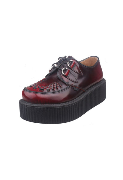 Red Leather Creepers - Alison Sman - 2