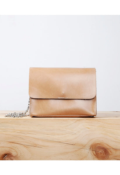 Leather Chain Bag - Alison Sman - 1