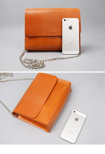 Leather Chain Bag - Alison Sman - 4