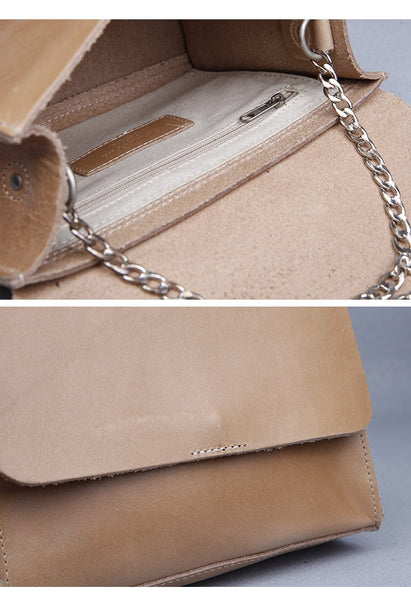 Leather Chain Bag - Alison Sman - 2