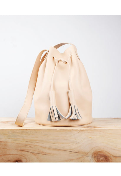 Signature Leather Bucket Bag - Alison Sman - 1
