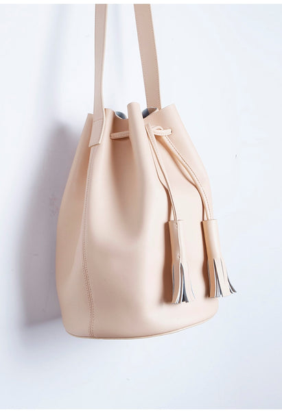 Signature Leather Bucket Bag - Alison Sman - 2