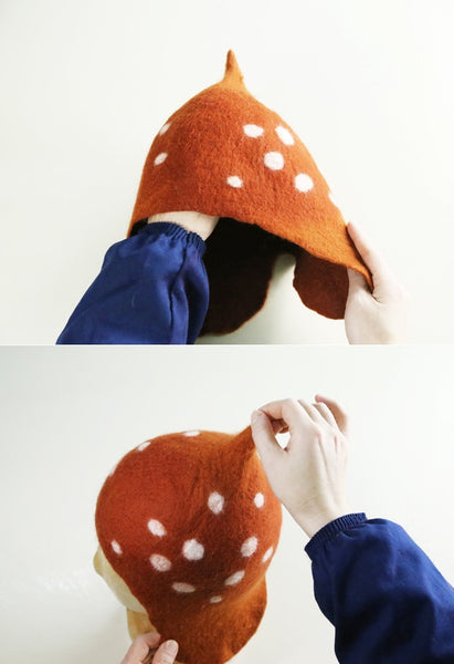 Granny Sheep Bambi Wool Hat - Custom - Alison Sman - 12