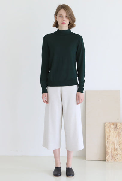 Biella Yarn Turtleneck Sweater