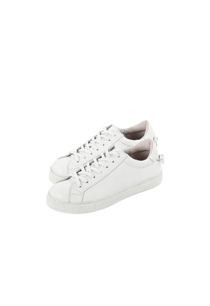 MAR Classic White Leather Sneakers