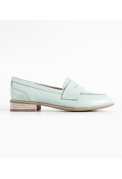Earth Loafers - Mint - Alison Sman - 1